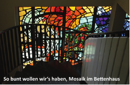 Mosaikfenster in Wukania
